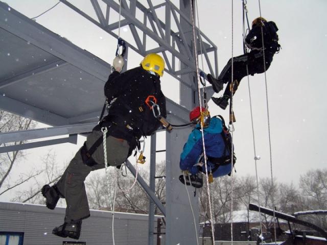 Работа в казани промышленным альпинистом в