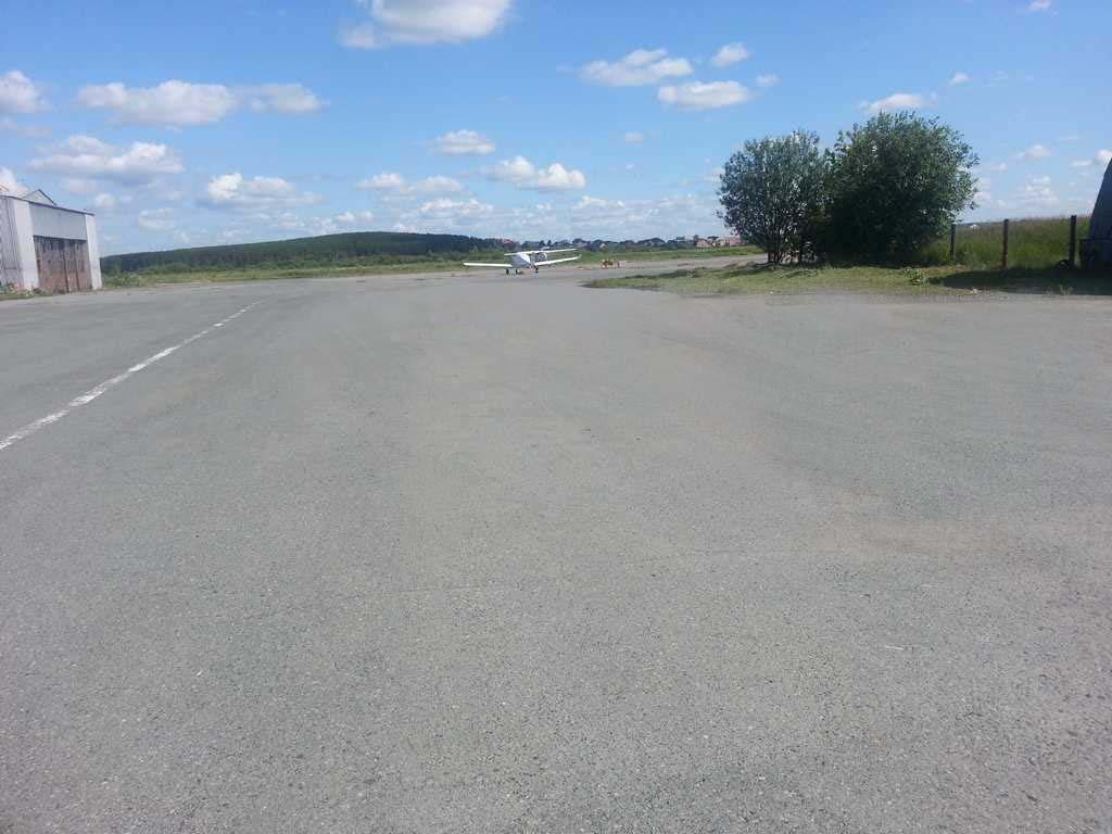 Уктус - Ангар - Асфальтирование