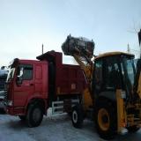 Снижена стоимость вывоза снега – 230 руб./метр кубический