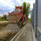 Тротуар в Артемовском