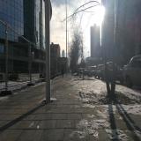 Тротуары на улице Ельцина