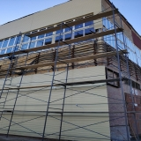 Екатеринбург. Ведутся фасадные работы.